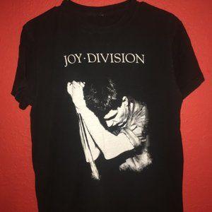 Joy Division Ian Curtis Medium Black Tshirt
